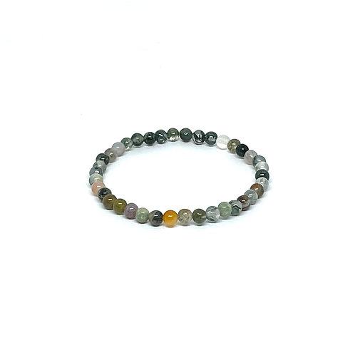 Semi-Precious Stone Bracelet-Fancy Jasper