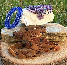 Signature items photo with 3 bracelets I