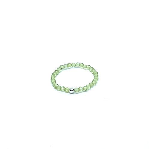Semi-Precious Stone Ringlet-Peridot
