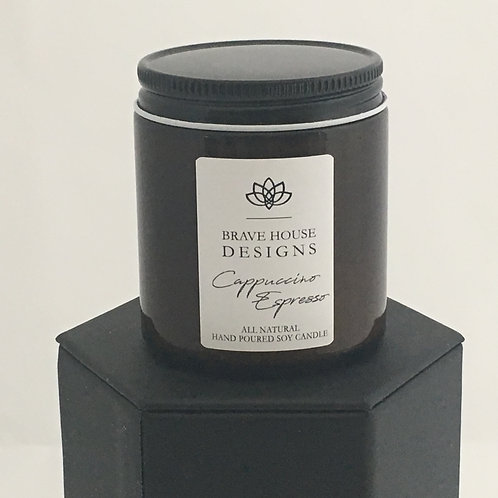 Cappuccino Espresso Soy Candle-4 oz