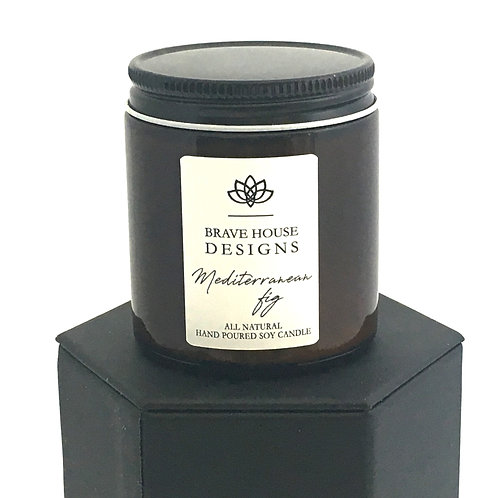 Mediterranean Fig Soy Candle-4 oz.