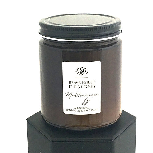 Mediterranean Fig Soy Candle-9 oz