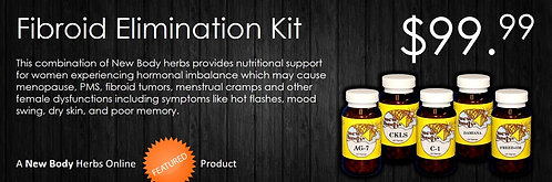 Fibroid Elimination Kit
