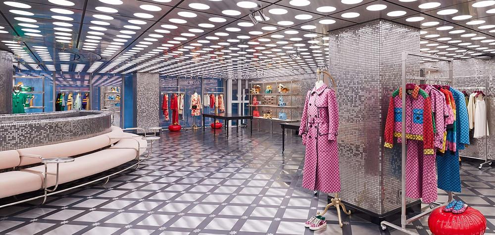 Gucci GAOK, nova loja em Seoul