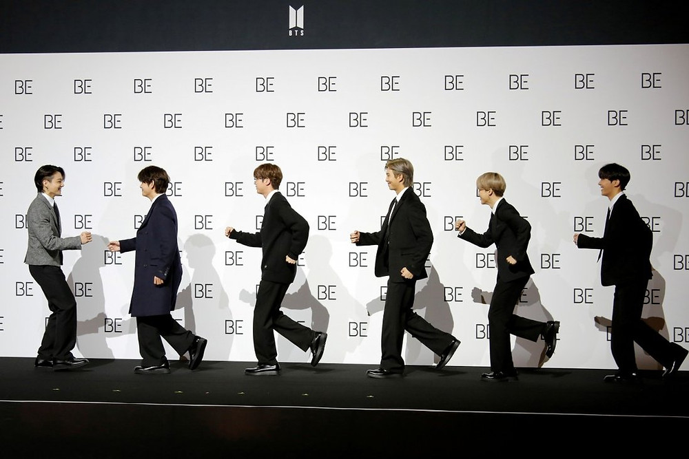 BTS, seen here promoting their new album BE (Deluxe Edition), have been announced as brand ambassadors for luxury fashion house Louis Vuitton
