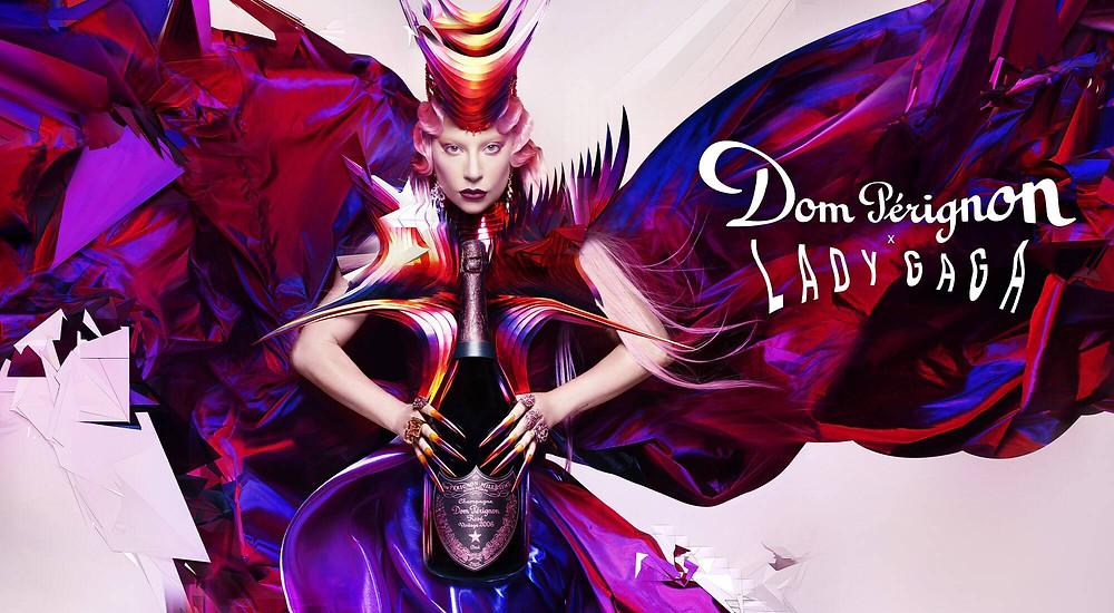Dom Pérignon e Lady Gaga collab