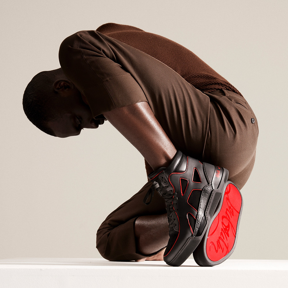 Christian Louboutin, Idris Elba e Sabrina Dhowre Elba lançam coleção de sapatos de caridade