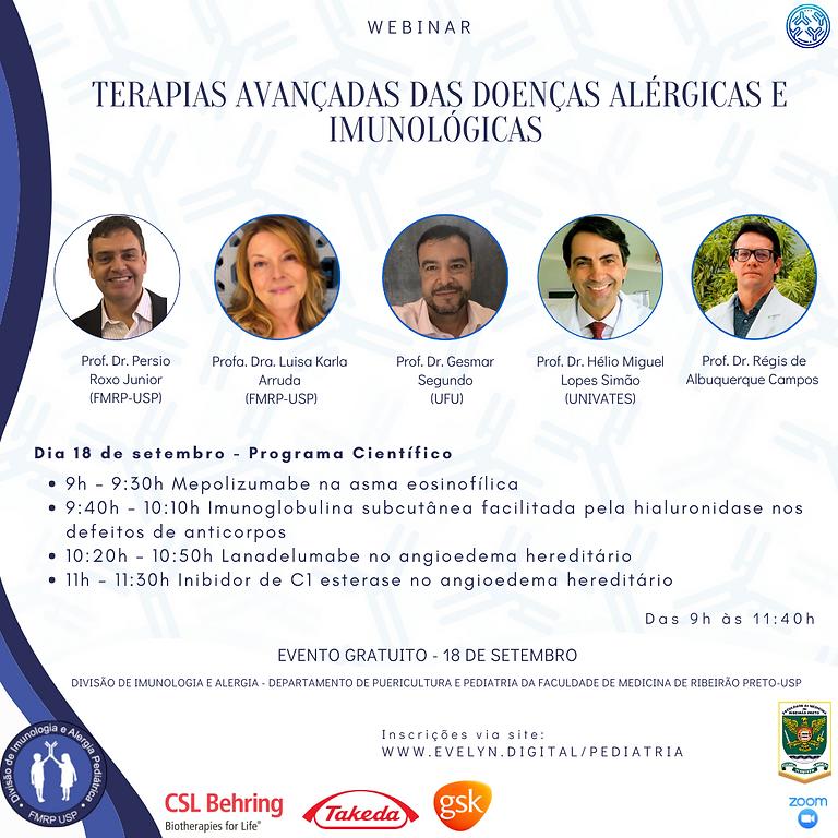 Terapias Avançadas das Doenças Alérgicas e Imunológicas