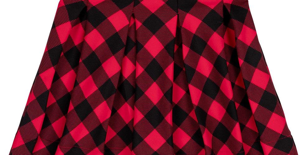 Plaid Milano Skirt
