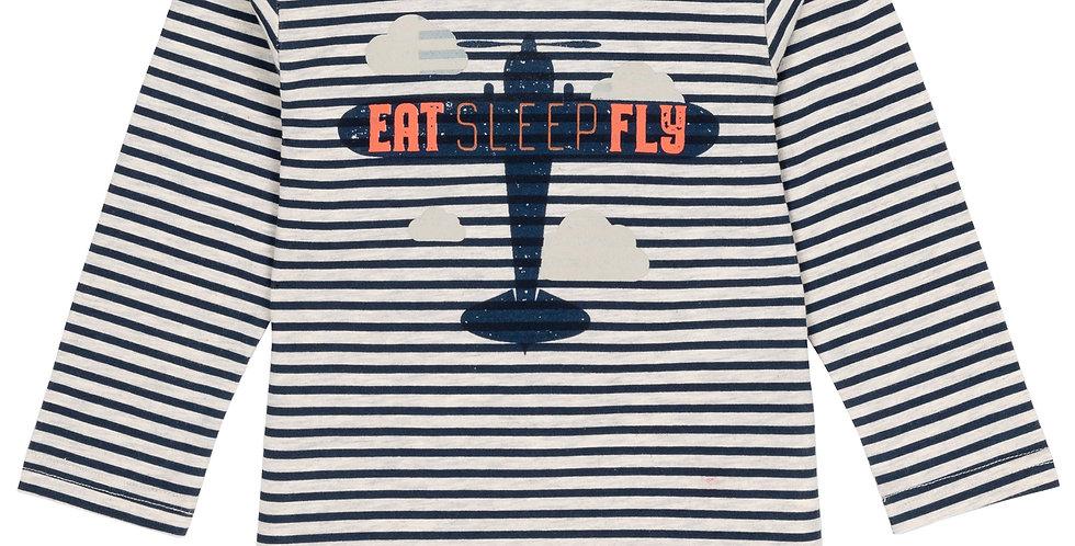 Eat sleep fly long sleeve