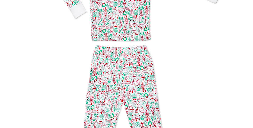 North Pole Henley PJs