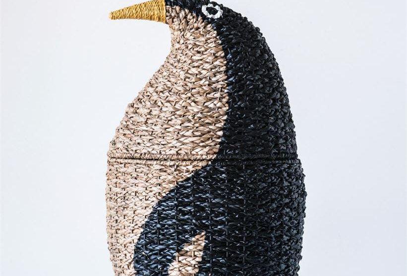 Woven Bangkuan Penguin Basket for Storage