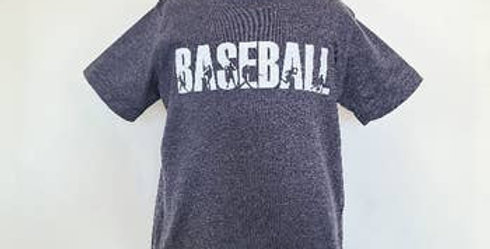 Grey Baseball T-shirt