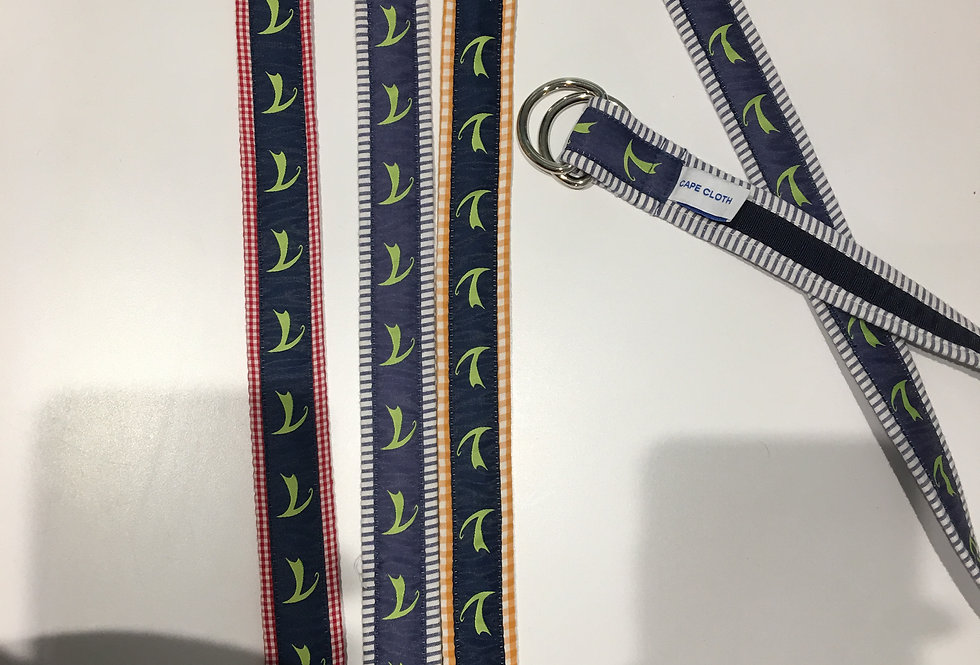 Cape Cloth Seersucker Belts