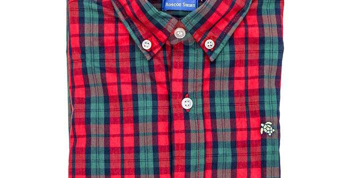 Button up plaid