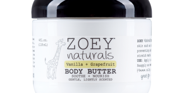 Vanilla Grapefruit Body Butter