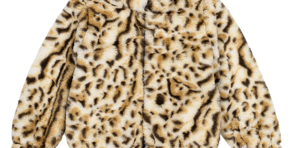 Cheetah lined Jacket