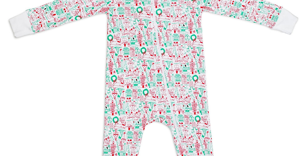North Pole onesie