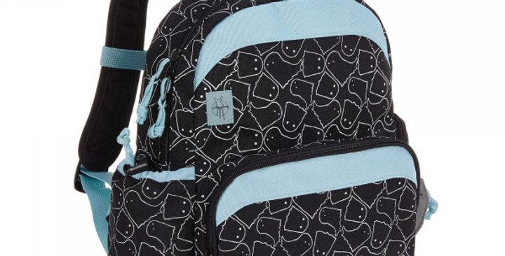 Medium Kids Backpack, Spooky Black