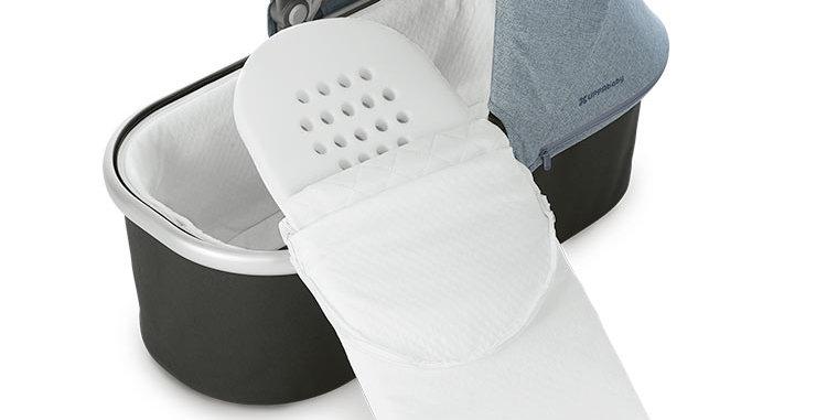 Bassinet Mattress Cover white