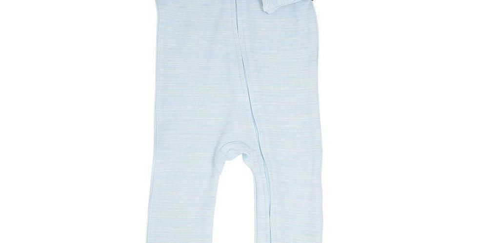 Blue chalkline zipper footy