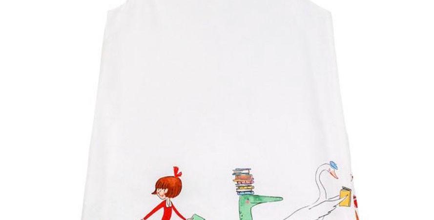 Book Parade A-Line Dress