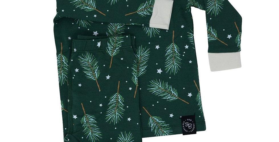 pine sprigs 2 pc pj set