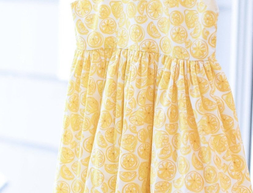 Capri Lemon dress