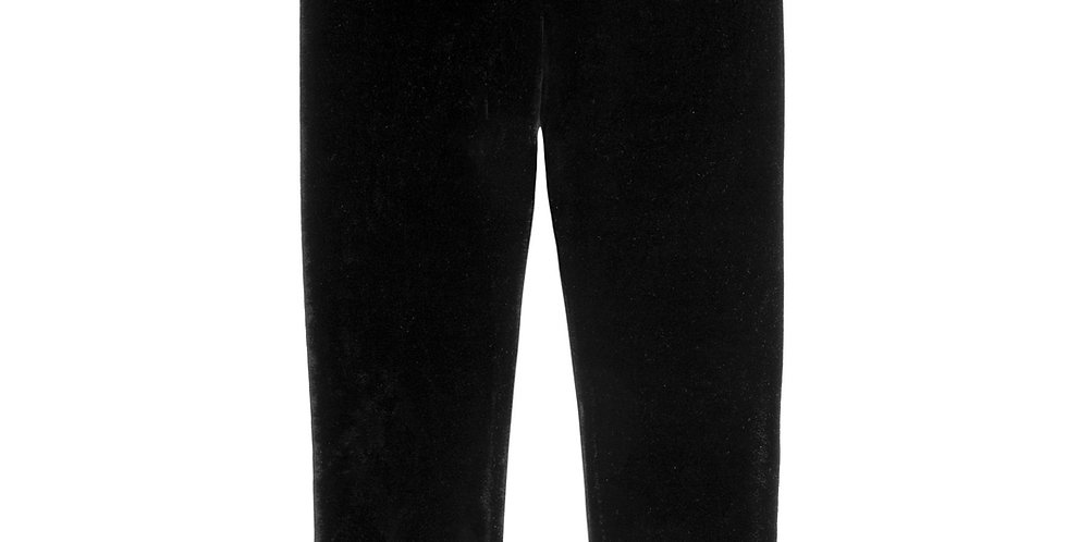 BLACK VELVET LEGGING, BABY GIRL & GIRL