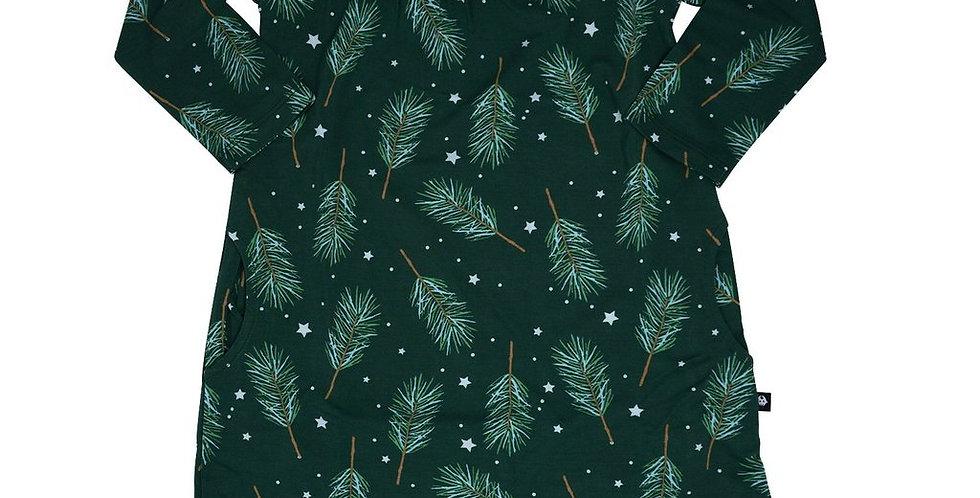 pine sprigs nightgown