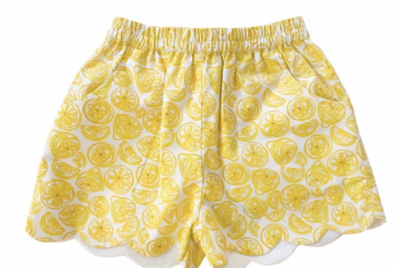 Capri Lemon Shorts
