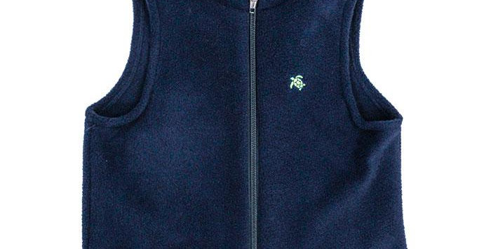 Mills Navy Fleece Vest