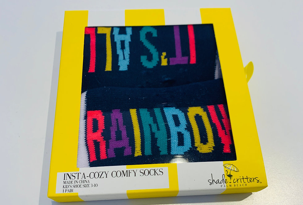 Comfy Rainbow Socks