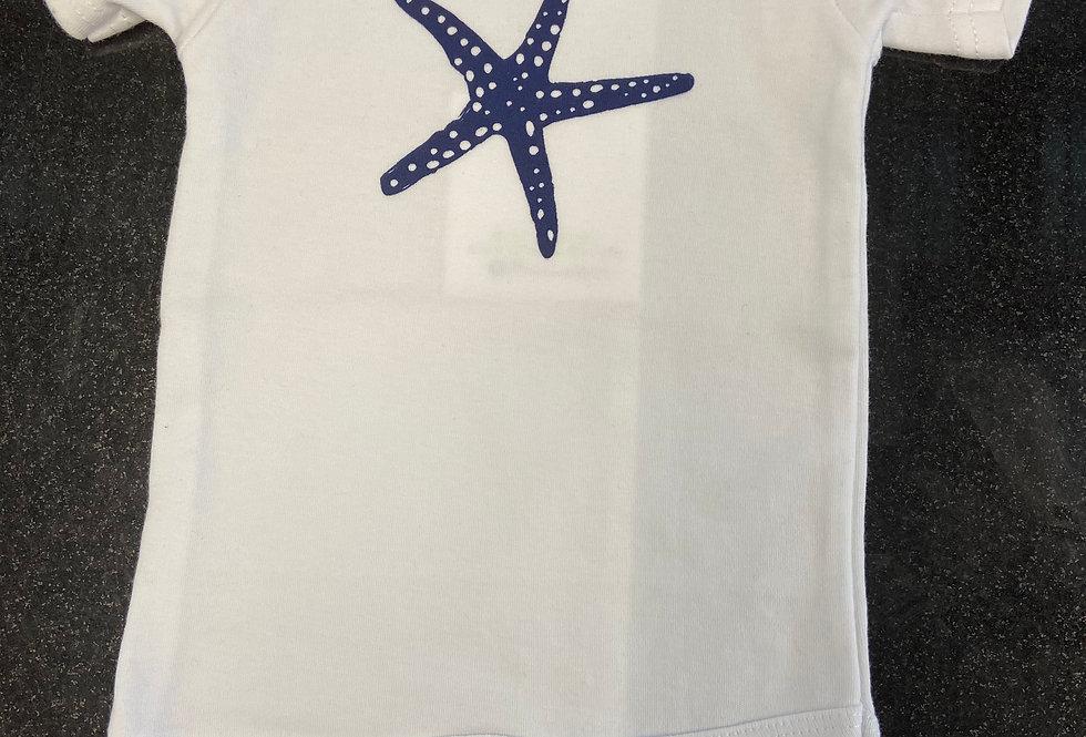 Basic starfish onesie