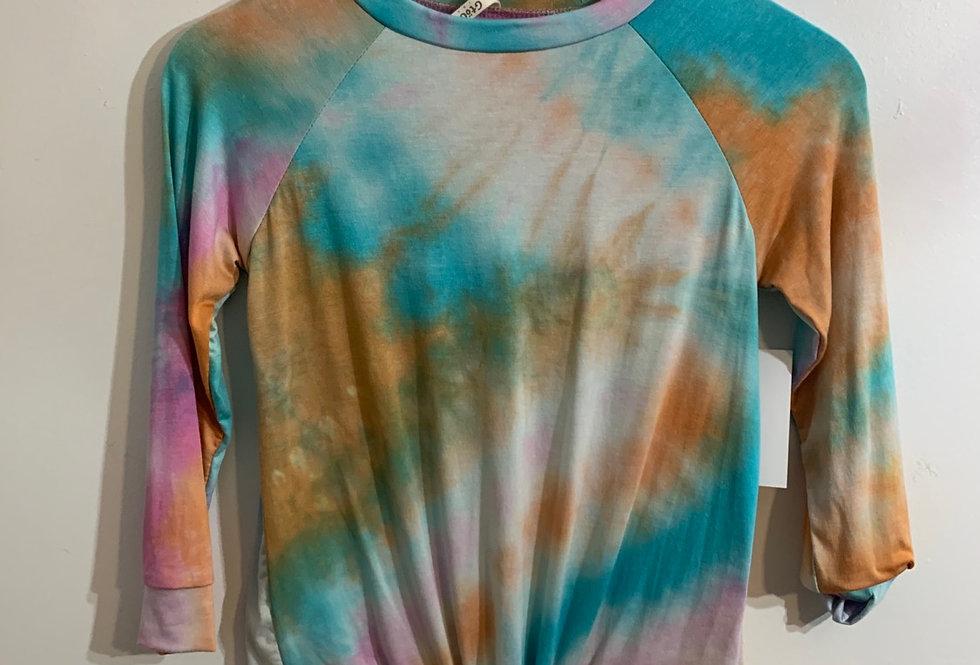 Rainbow Tie Dye Soft Long sleeve shirt