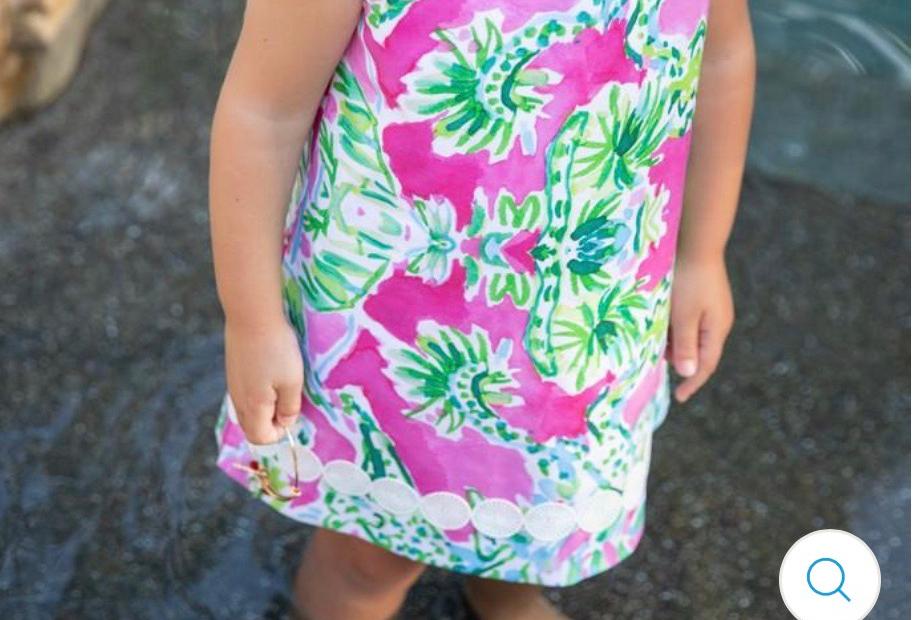 Liza B Garden Dress