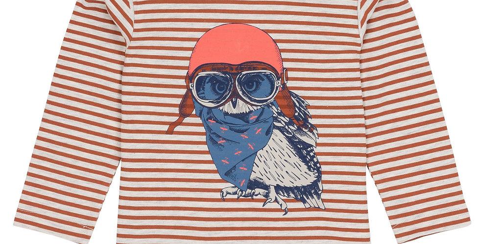 Owl Pilot striped long sleeve