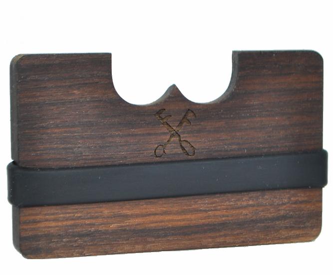 FF - Wooden wallet - walnut