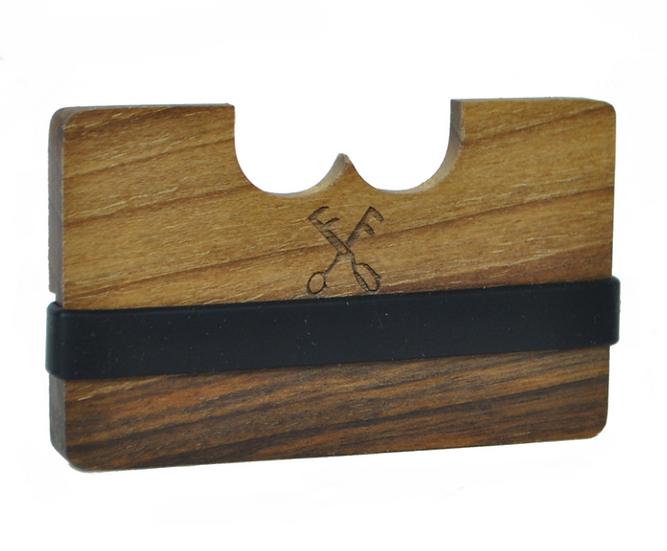 Wooden wallet - oak