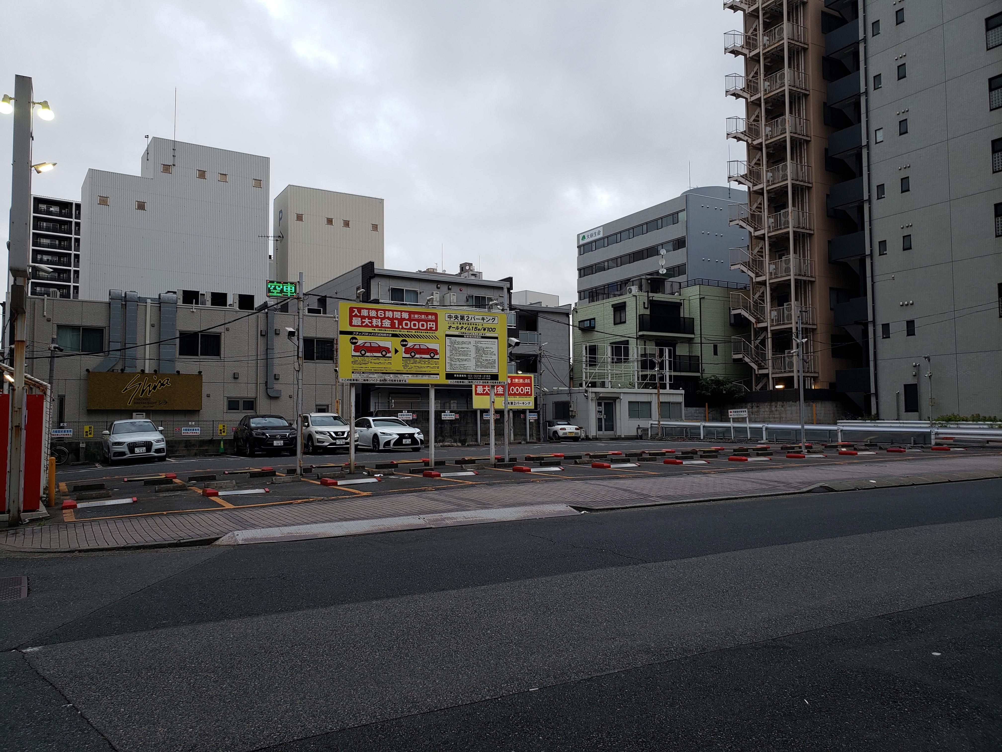 ④千葉劇場横(中央第2パーキング)