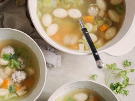 Hønsekødssuppe(Danish Chicken Soup)
