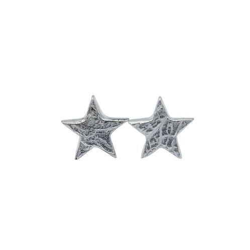 Star Leaf Print Studs