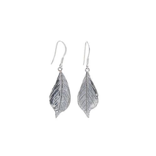 Horse Chestnut Leaf Drop Earrings