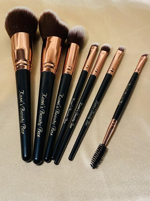 KBB Signature Gold - 7 Piece Brush Set