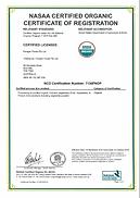 Organic NOP Certification