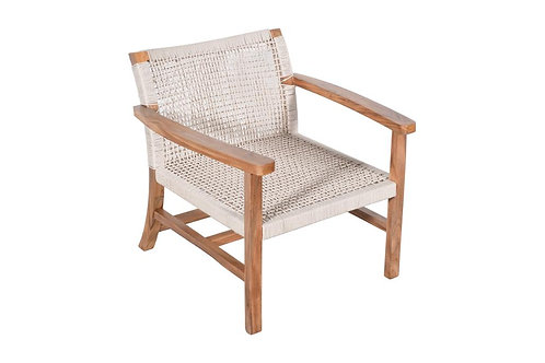 Hamptons Teak Weave Outdoor Chair