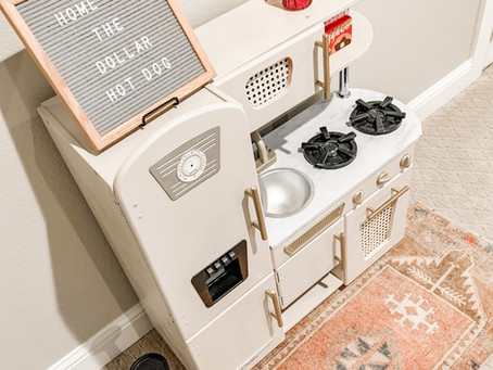 DIY: Modernize your Kids Kitchen
