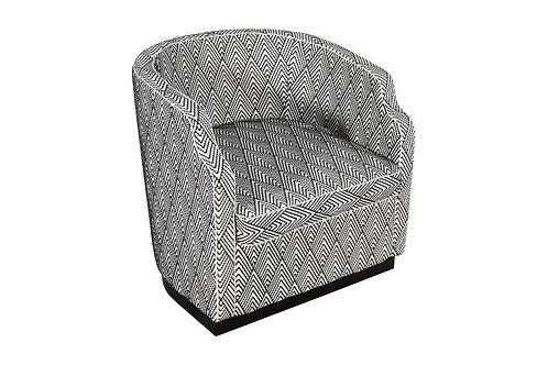 Malibu Scallop Swivel Chair