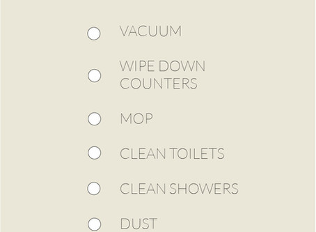 Covid Cleaning Challenge Day 4: Deep Cleaning