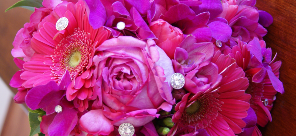 Hot Pink Bride's Bouquet.png